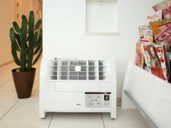 待合室の空気清浄機の写真